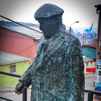 Jürgen Alef, Pablo Neruda, Reisen, Ankommen, Dichter, Südamerika, Chile, Bolivien, Argentinien
